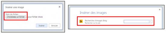 09 - decouverte du traitement de texte Word Online - insertion d image