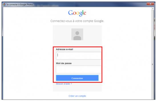 10 - Google Photos stockage gratuit et illimite de photos en ligne - S identifier sur l application ordinateur