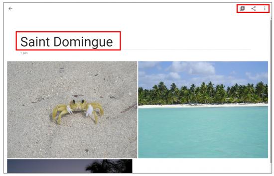 14 - Google Photos stockage gratuit et illimite de photos en ligne - Creer des albums