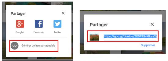 19 - Google Photos stockage gratuit et illimite de photos en ligne - Partager des photos