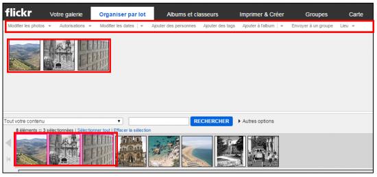 Flickr service de stockage et de partage de photos en ligne - Traitement d images par lots