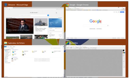 Les principales nouveautés de Windows 10 - Les bureaux virtuels