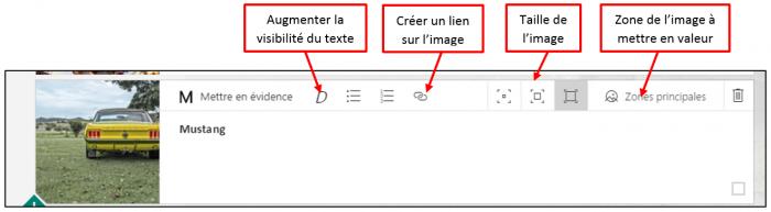 Modifier l'affichage d'une image