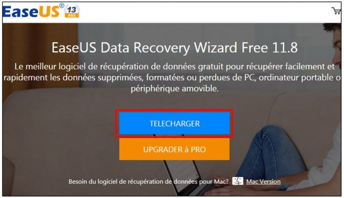 Télécharger EaseUS Data Recovery