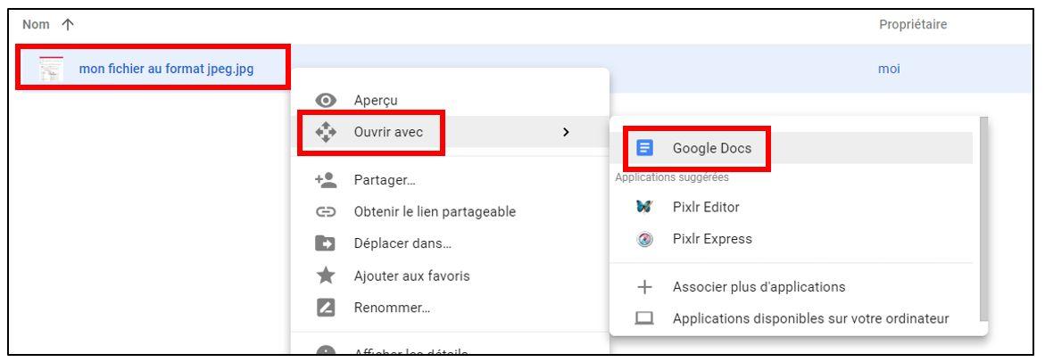 convertir un pdf scann u00e9 en texte avec google doc  u2013 je me forme au num u00e9rique
