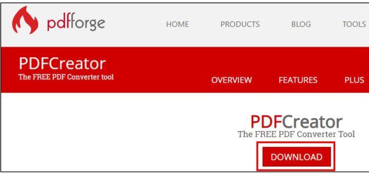 Télécharger PDF Creator