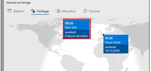 Visualiser l'heure sur un planisphère