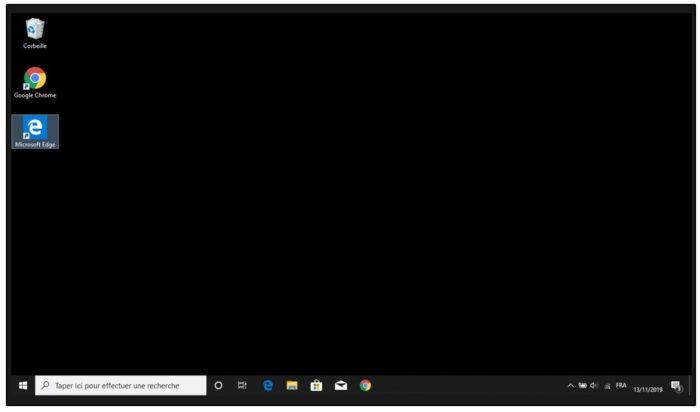 Nouveau bureau Windows 10